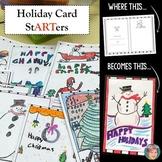 Holiday Card StARTers - Fun, Creative Christmas Card Makin