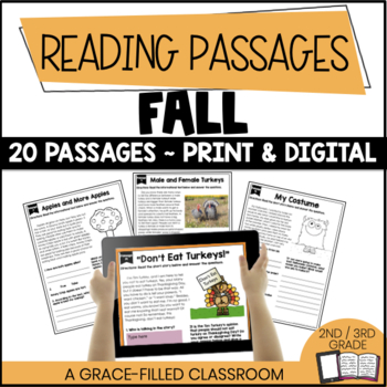 Fall Themed: 20 Short Passages