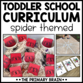 Toddler Lesson Plans - Spider Themed Lessons *50% off Halfway Sale*