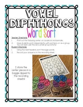 Vowel Diphthongs