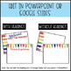Editable PowerPoint and Parent Handouts Colorful Pencils