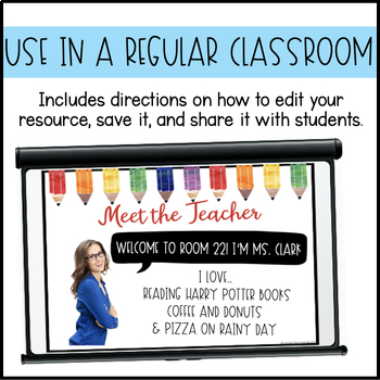 Editable PowerPoint and Parent Handouts Colorful Pencils