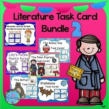 Literature Comprehension Task Card Bundle 2!