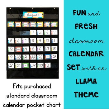 Llama Classroom Decor: The Bundle
