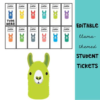 Llama Theme: Awards and Incentives Set