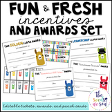 Llama Theme: Awards and Incentives Set