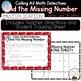 Multiplication Missing Number Task Cards