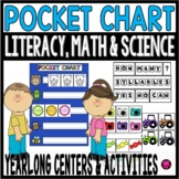 Pocket Chart Centers and Activities for PreK and Kindergarten