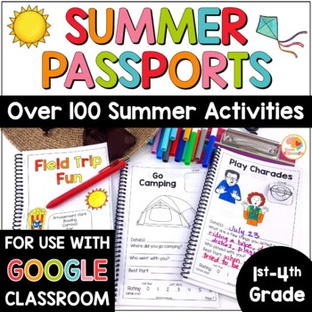 Summer Passport Activity Booklets