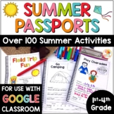 Summer Passport Activity Booklets