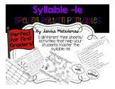 Syllable -le