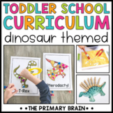 Toddler School Lesson Plans | Dinosaur Themed Activities Homeschool & Classroom
