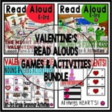 Valentine Theme Read Alouds Activities and Games BUNDLE