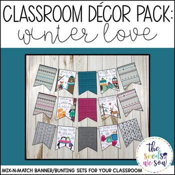 Winter Classroom Decorations