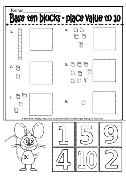 place value bundle product