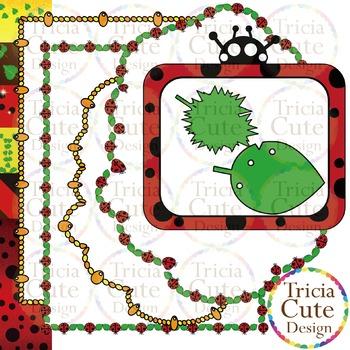 Ladybug Life Cycle Clip Art - Realistic & Cartoon