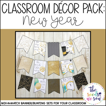 New Years Classroom Decorations