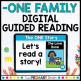 -ONE Digital Guided Reading Boom Cards™ & Google Slides