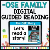 -OSE Digital Guided Reading Boom Cards™ & Google Slides