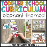 Toddler School Lesson Plans   Elephant Themed Curriculum A