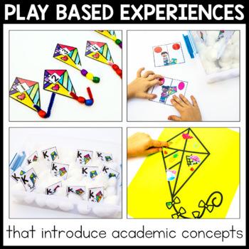 Toddler Lesson Plans - Kite Themed Lessons