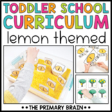 Toddler School Lesson Plans   Lemon Themed Curriculum Activities