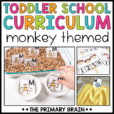 Toddler School Lesson Plans   Monkey Themed Curriculum Activities