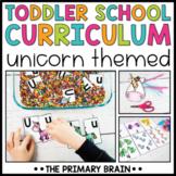 Toddler School Lesson Plans   Unicorn Themed Curriculum Ac