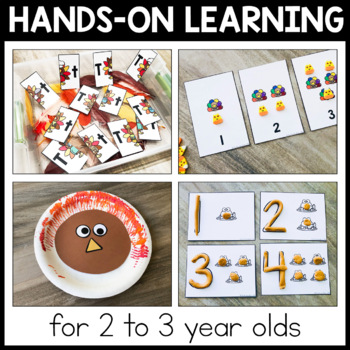 Toddler Lesson Plans - Turkey Themed Lessons