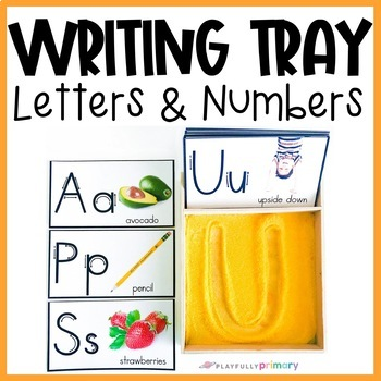 Writing Tray Letter & Number Formation Cards