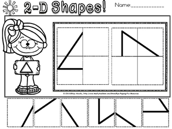 2d and 3d shapes mega pack