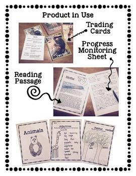 Articulation Animal Trading Cards and Reading Passages