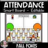 Attendance Smart Board Fall Foxes