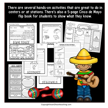 Cinco de Mayo Activities and Flip Book
