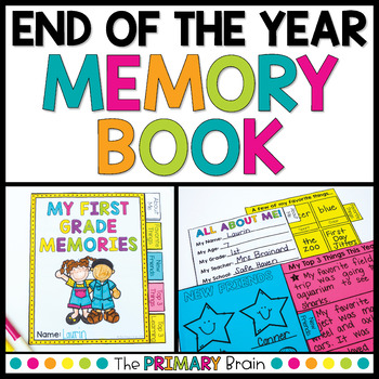 End of the Year School Memories Tabbed Book