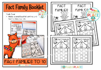 Fact Families for 20 Worksheets and Activities