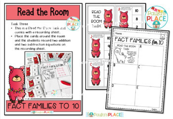 Fact Families for 10