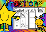 FRACTIONS FOR FIRST GRADE REVIEW