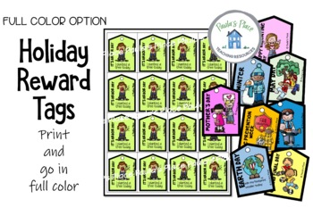 Holiday Brag Tags Full Color