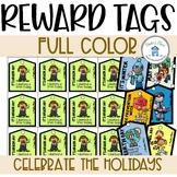 Holiday Reward Tags Full Color