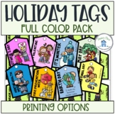 Holiday Reward Tags Full Color