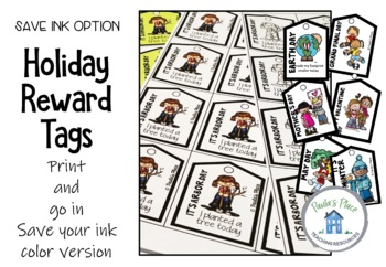 Holiday Brag Tags Save Your Ink Version