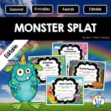 Monster Splat End of the Year Awards   Character Trait Awards {EDITABLE}