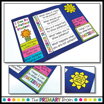 Patience Character Education Lapbook