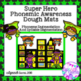 Phonemic Awareness Smash Mats Game: Phoneme and Syllable segmentation