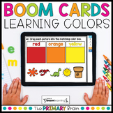 Colors Boom Cards™ Distance Learning | Color Sorting Task Cards
