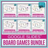 Digital | Speech Therapy | Google Slides™ Board Games BUNDLE