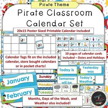 Pirate Classroom Decor Bundle