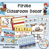Pirate Classroom Decor Bundle