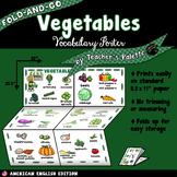 ESL/ELL Foods Vocabulary Poster—Vegetables